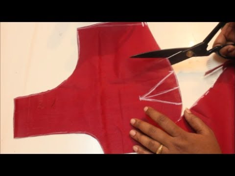 Lining Blouse Cutting & Stitching  in Tamil(DIY)