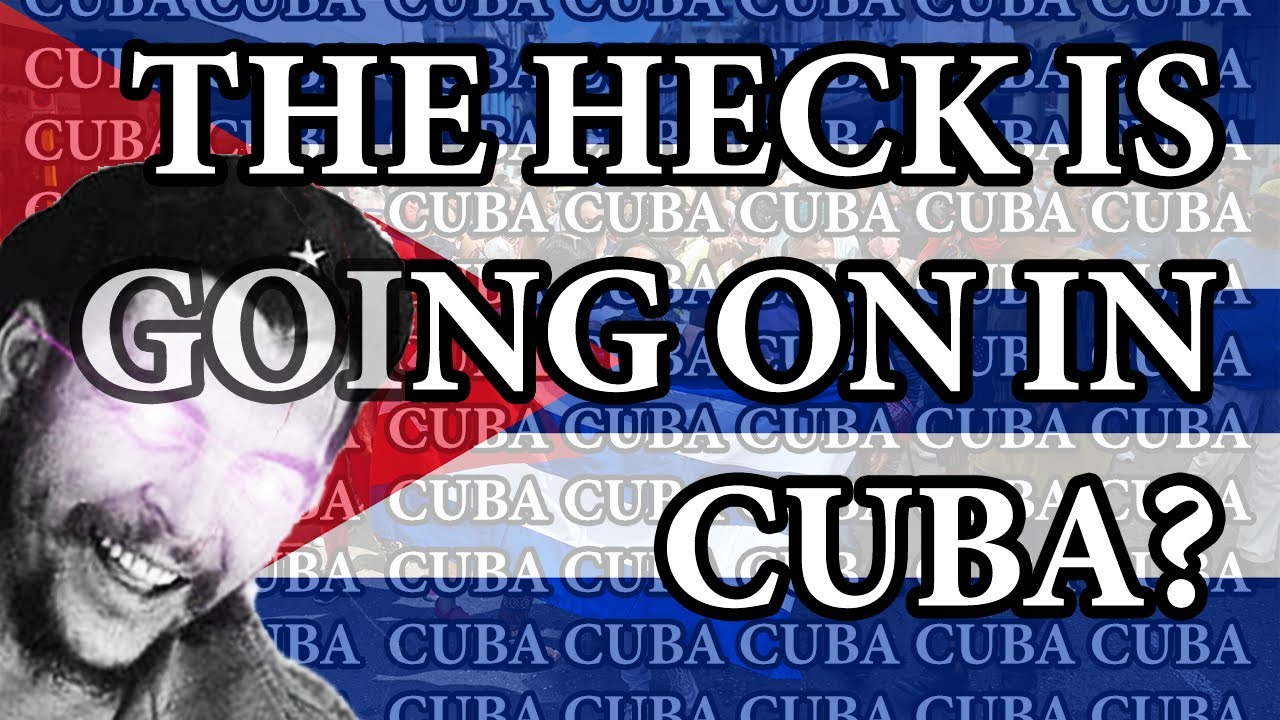 You shouldn't be supporting the Cuban protests