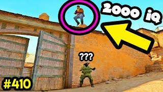 2000 IQ RUNBOOST PEEK! - CS:GO BEST ODDSHOTS #410