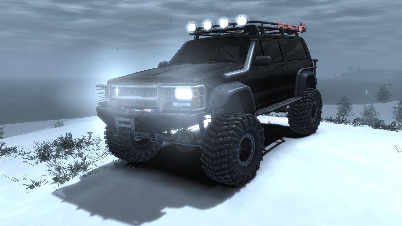 Gta Iv Jeep Grand Cherokee Se Custom Offroad Jeep Ice