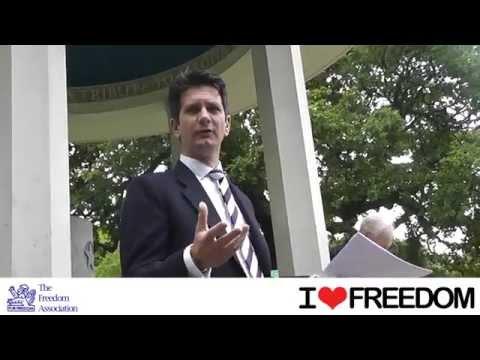 Magna Carta Day Pimm's & Politics Boat Trip 2014: Steve Baker MP