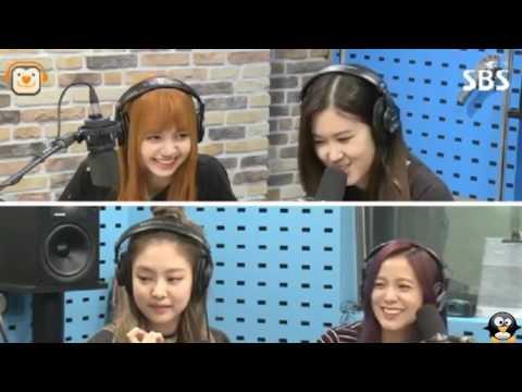BLACKPINK  170707 BLACKPINK Rose & Jennie  - imitate /sing Bolbbalgan4 Galaxy