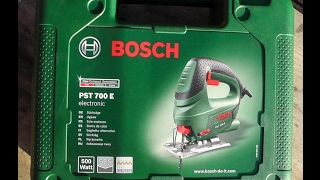 Bosch Stichsäge PST 700 E - Test