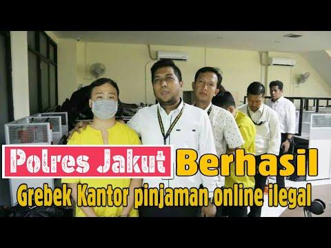 Detik Detik Polres Jakarta Utara Berhasil Grebek Kantor Pinjol