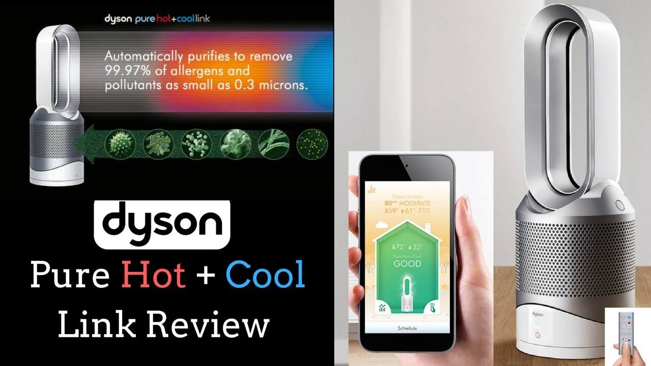 dyson pure hot cool link review youtube. Black Bedroom Furniture Sets. Home Design Ideas