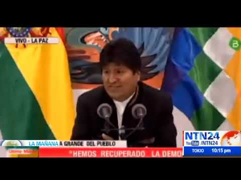 """Morales dice estar """"casi segurísimo"""" de haber ganados las elecciones pero advierte """"golpe de Estado"""""""