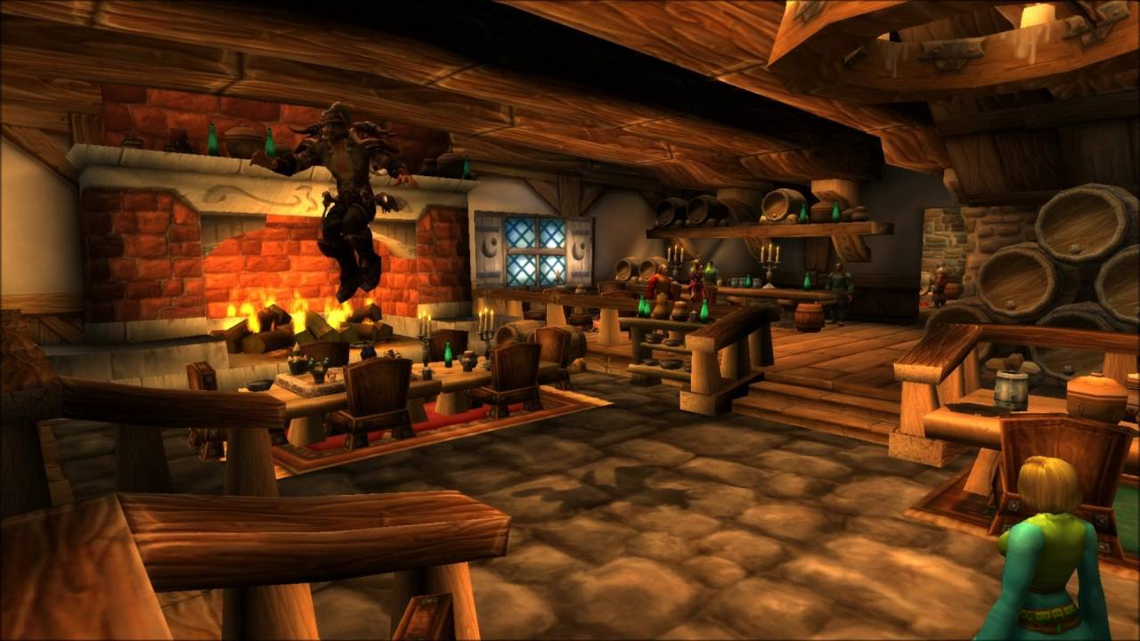 minutes goldshire tavern  ingame world  warcraft youtube