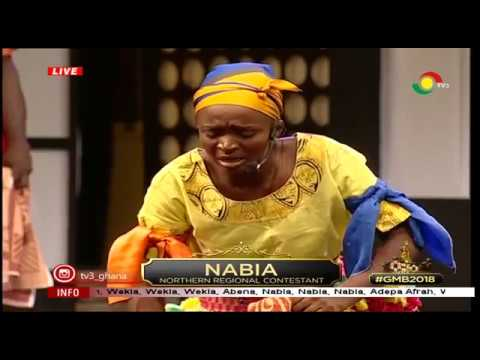 GHANA MOST BEAUTIFUL GMB 2018 NABIA WEEK 7