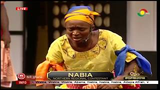 Nabia performs with lots of energy in this week's GMB. she dispalys...