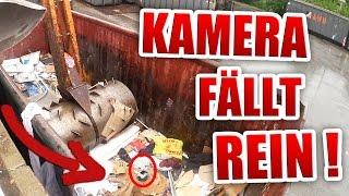 UNSERE KAMERA LIVE GESCHROTTET !!!