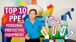 Angela Brown's Top 10 Personal Protective Equipment - PPE for House Cleaners