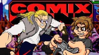 Nunca é tarde pra jogar: Comix Zone! O jogo das histórias em quadrinhos
