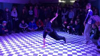 LiL KiNG vs Martin Finał BBoying 1vs1 na Urban Dance Metting 2018