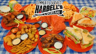 American Sports Bar Food Challenge w/ Appetizers, Sandwiches, & MORE!!