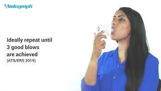 asma 1 - Demonstrating Testing with the Vitalograph asma-1