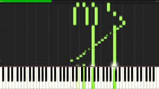 →unfinished→ - Accel World ED [Piano Tutorial] (Synthesia) // Animenz