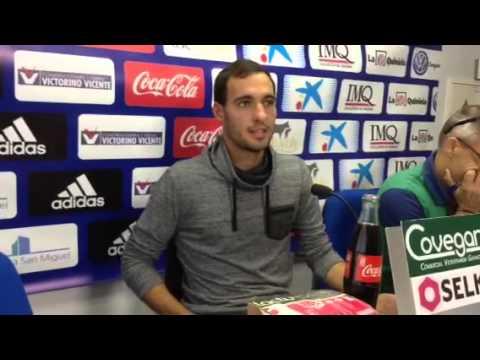 Unai García en rueda de prensa