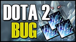 BUG ANCIENT APARITION INSTANT ICE BLAST WITH REFRESH ORB DOTA 2