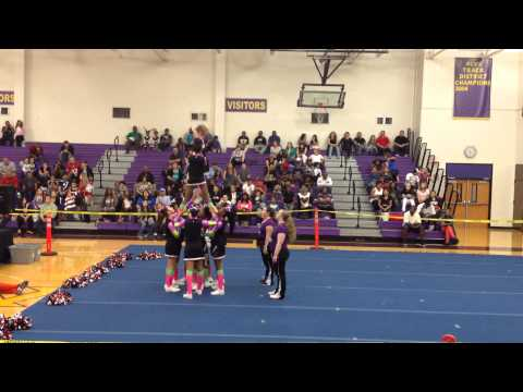 bratz ycoa cheer competition Houston TX 2014 - YouTube
