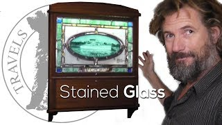 A gift of stained glass - Boat life - Boat refit - Travels With Geordie #141