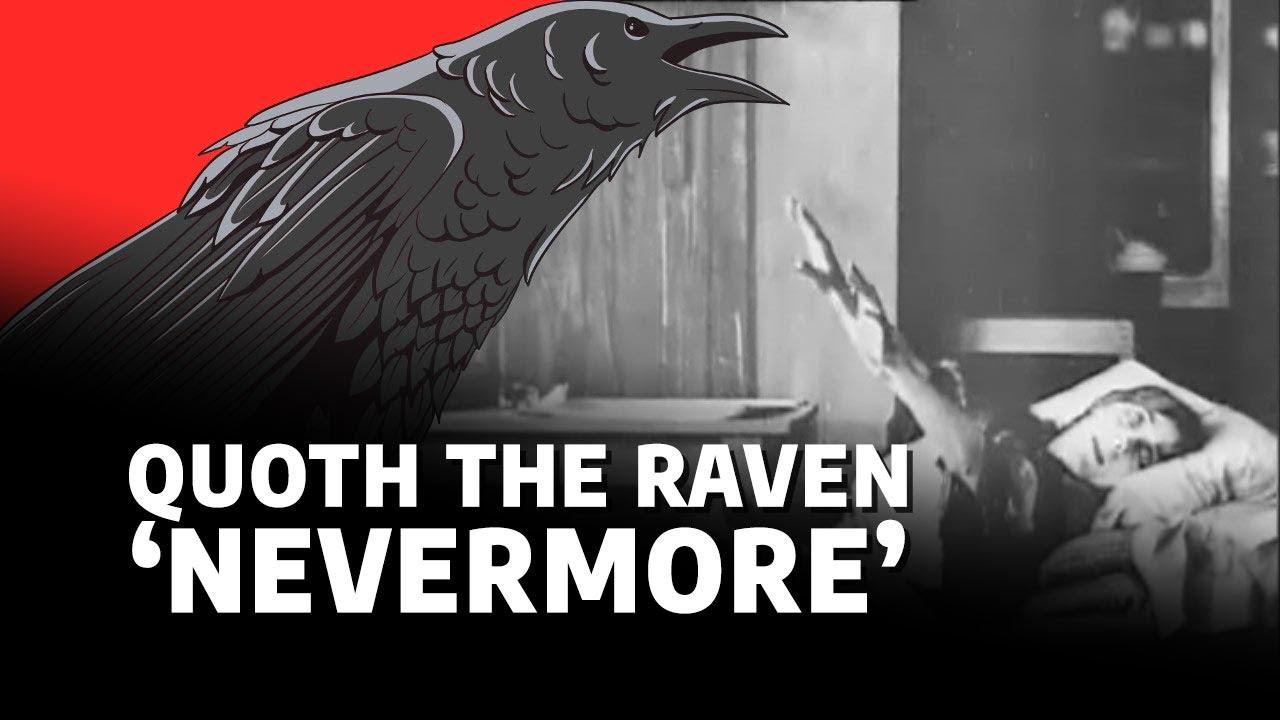 The Raven - Edgar Allan Poe (Poem & 1909 film) - YouTube