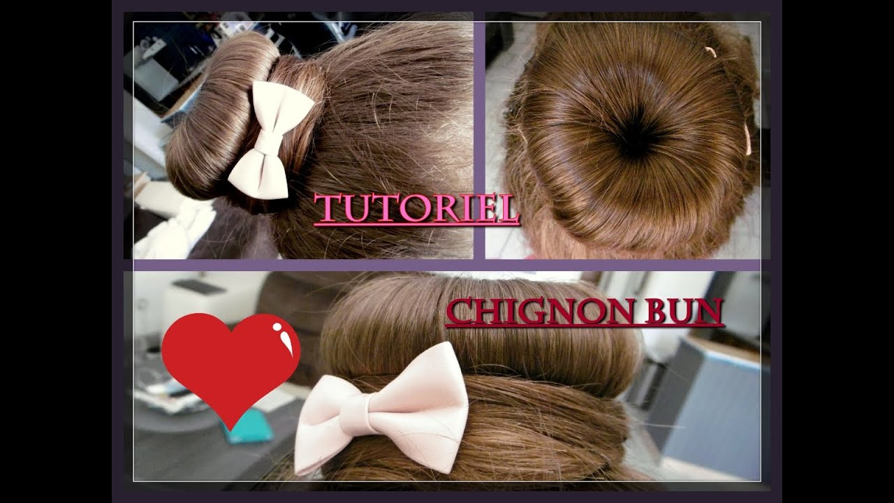 TUTORIEL - Le chignon bun - YouTube