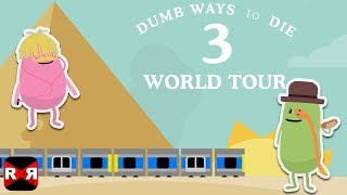 Dumb Ways To Die 3: World Tour - Dumbville Area - Rare Character Unlocked Gameplay