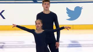 Anastasiia SMIRNOVA / Artem DARENSKYI UKR - Pairs Free Skating MINSK 2017
