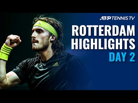 Tsitsipas, Rublev Open Campaigns; Khachanov Faces Wawrinka | Rotterdam 2021 Highlights Day 2
