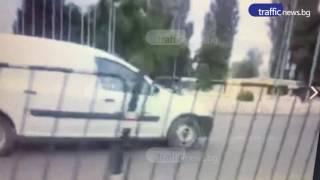 Кола шпори в насрещното пред Панаира