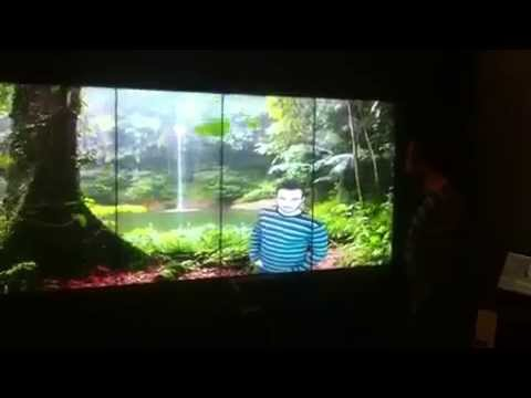 Augmented Reality Lg Video Wall Regnum Hotel Virtual