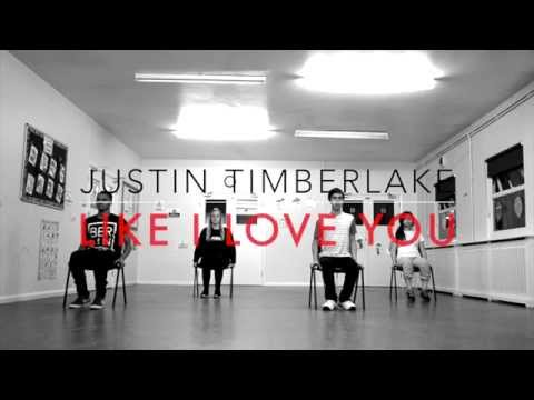Justin Timberlake Like I Love You CHAIR Choreography