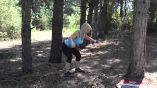 Комплекс упражнений с гантелями, для верхне-плечевого пояса.