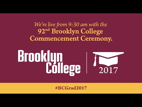 Brooklyn College Commencement Ceremony - May 30, 2017
