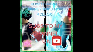 HOW TO EARN MONEY FAST ON BOKU NO ROBLOX:REMASTERED
