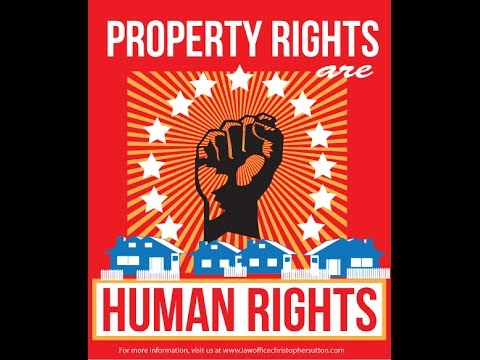 PROPERTY CAN NOT OWN PROPERTY-DR.ALIM BEY