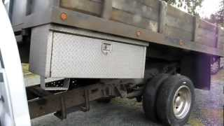 For Sale F450 7.3 liter turbo diesel auto 4x4 dump truck, hydraulic