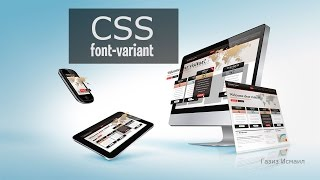 CSS урок 13. font-variant