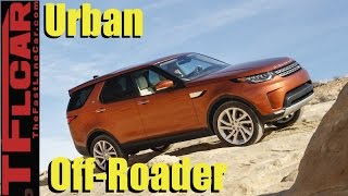 2017 Land Rover Discovery Off-Road Review: Driving the Road Less Traveled