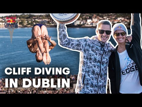 The Very First Cliff Diving Event in Dub...