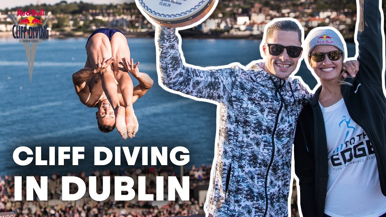 The Very First Cliff Diving Event in Dublin | Red Bull Cliff Diving 2019 Highlights