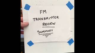 FM Transmitter for Christmas Light Display - Part 5 Summary