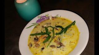 Грибной супик!!!! Суп с грибами и плавленым сыром