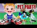 Baby Hazel Pet Party | Fun Game Videos By Baby Hazel Games