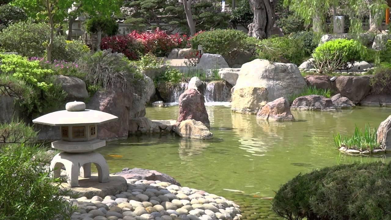 2014 4 jardin japonais monaco youtube for Jardin japonais