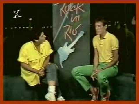 Eduardo Dusek - Entrevista - Rock In Rio 1985
