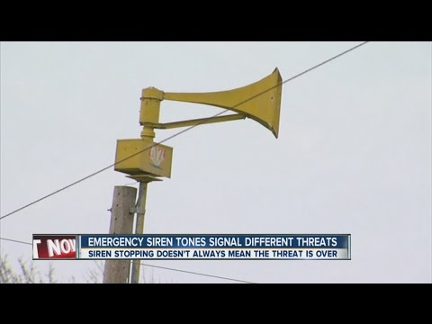 Emergency Siren Tones Signal Different Threats - YouTube