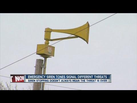 Emergency Siren Tones Signal Different Threats