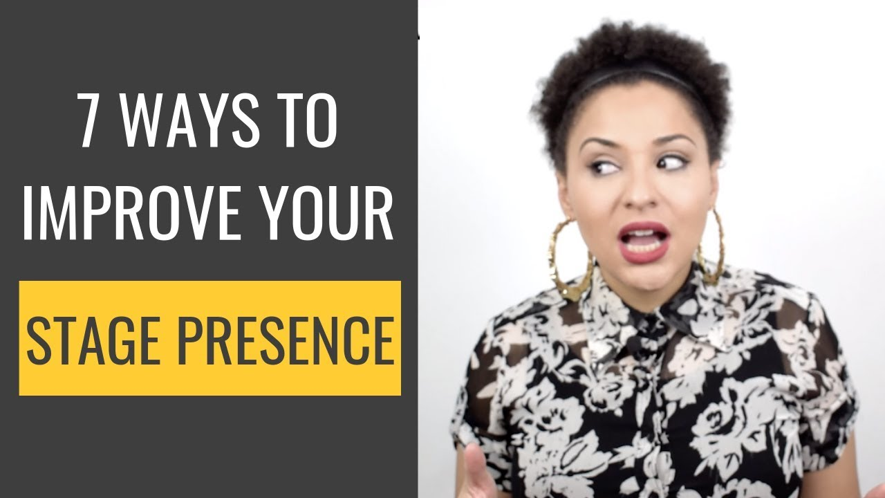 Stage Presence for Singers | Tips for Performing on Stage