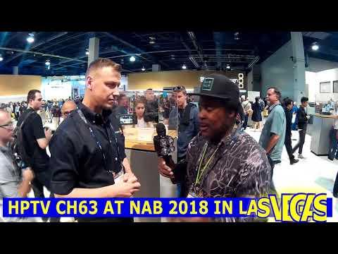 HPTV CH63 NAB SHOW 2018 BLACK MAGIC DESIGN